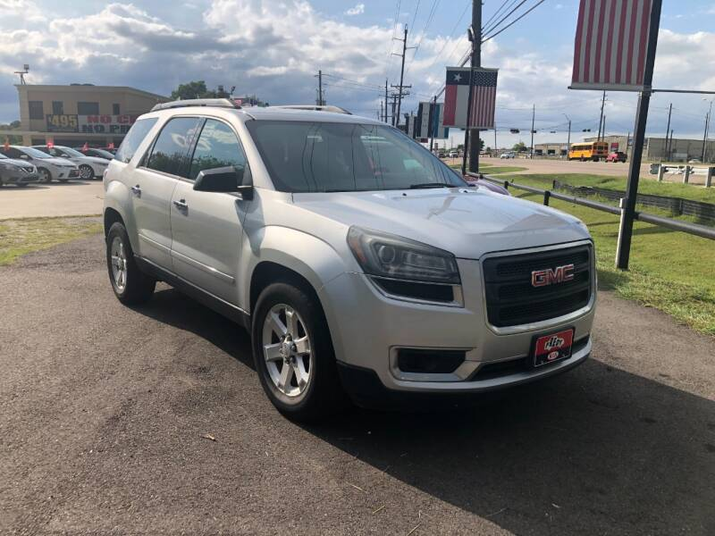 2015 GMC Acadia for sale at FREDY CARS FOR LESS in Houston TX