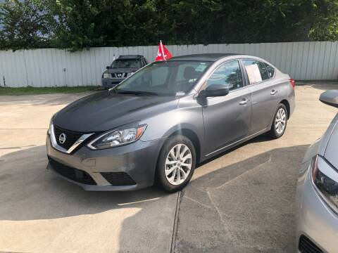 2019 Nissan Sentra for sale at FREDY CARS FOR LESS in Houston TX