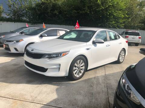 2016 Kia Optima for sale at FREDY CARS FOR LESS in Houston TX