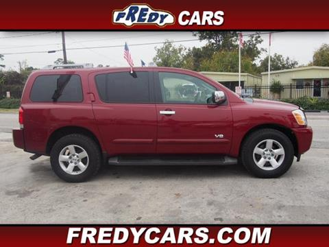 2006 Nissan Armada for sale in Houston, TX