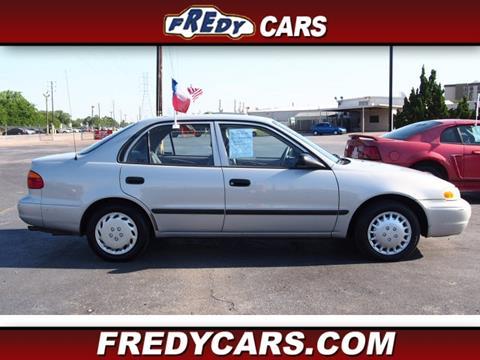 2001 Chevrolet Prizm for sale in Houston, TX