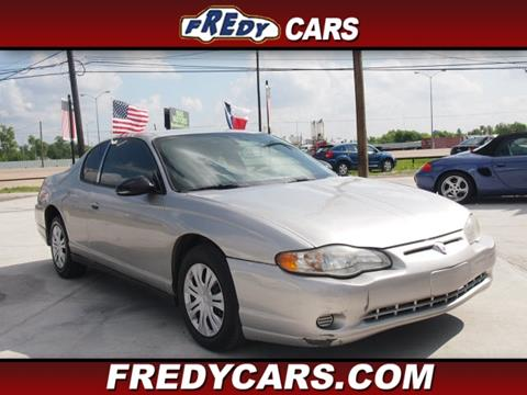 2005 Chevrolet Monte Carlo for sale in Houston, TX