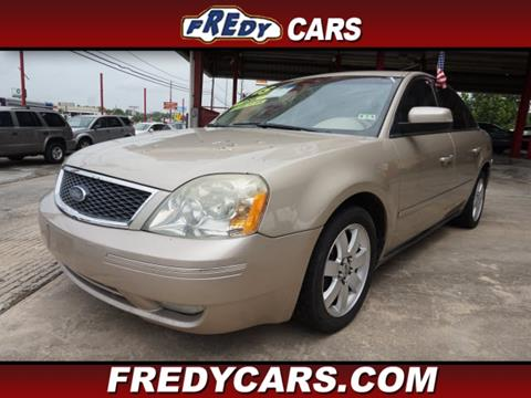 used 2005 ford five hundred for sale in texas. Black Bedroom Furniture Sets. Home Design Ideas