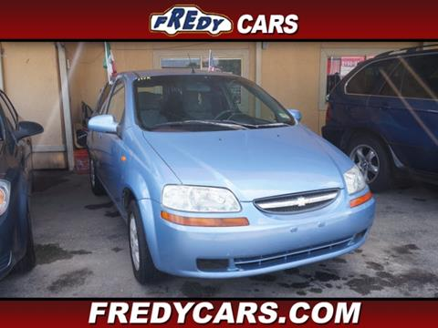 2004 Chevrolet Aveo for sale in Houston, TX