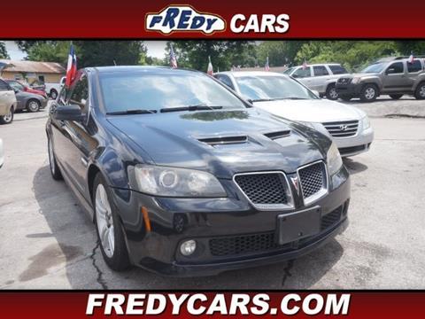 2009 Pontiac G8 for sale in Houston, TX