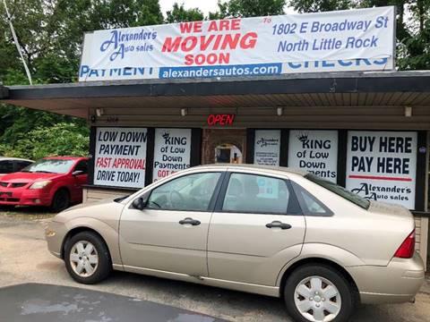 Alexanders Auto Sales Used Cars North Little Rock Ar Dealer
