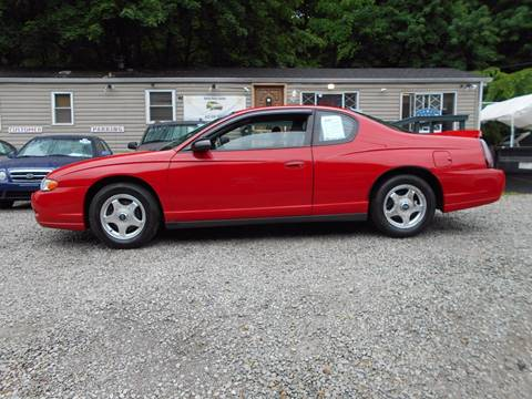 2005 Chevrolet Monte Carlo for sale at Unity Auto Sales in Pittsburgh PA