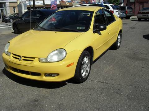 2002 Dodge Neon for sale at Unity Auto Sales II in Pittsburg PA