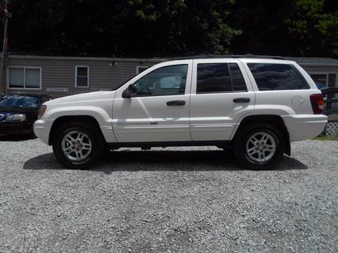 2004 Jeep Grand Cherokee for sale at Unity Auto Sales II in Pittsburg PA