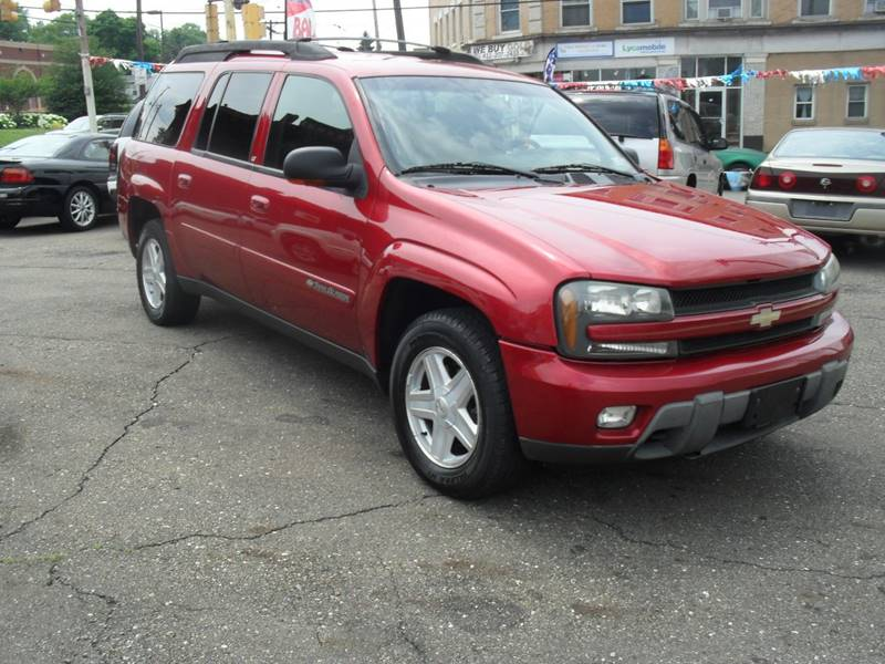 2002 Chevrolet TrailBlazer for sale at Unity Auto Sales II in Pittsburg PA