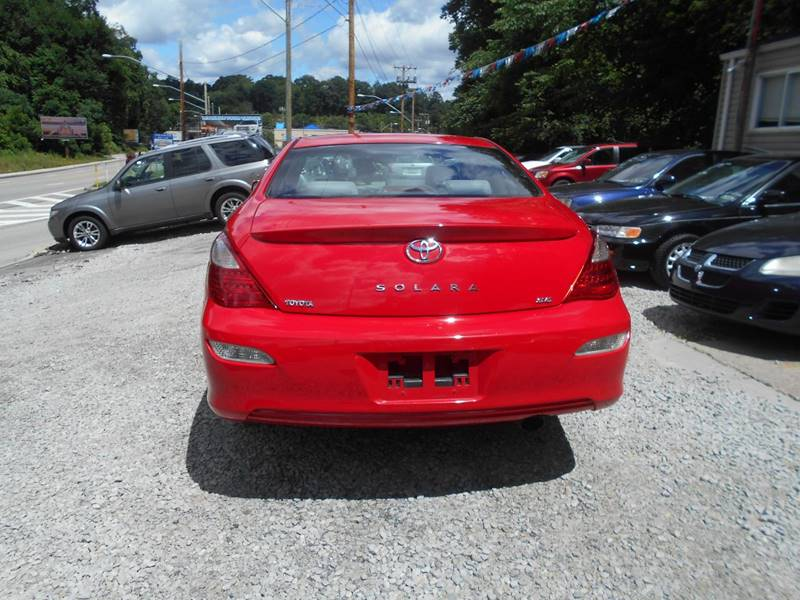 2007 Toyota Camry Solara for sale at Unity Auto Sales in Pittsburgh PA