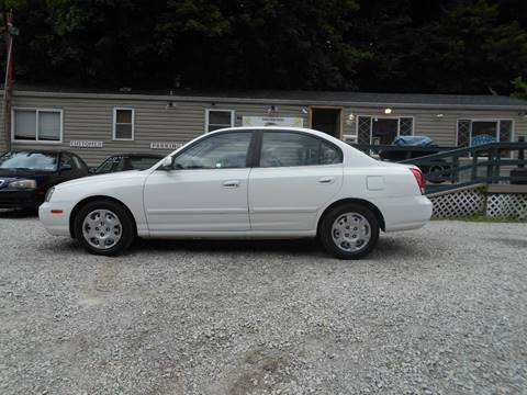 2003 Hyundai Elantra for sale at Unity Auto Sales in Pittsburgh PA