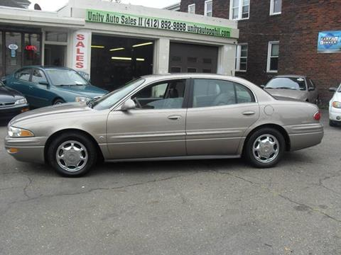 2002 Buick LeSabre for sale at Unity Auto Sales II in Pittsburg PA
