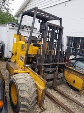 2002 SELLICK PIGGYBACK FORKLIFT TMF55 for sale in Columbus, OH