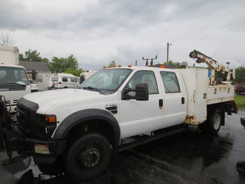 2008 Ford F-550 Crane utility  4X4 Crew for sale in Columbus, OH