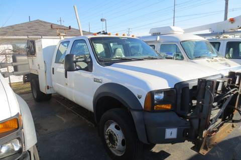 2007 Ford F-550 Crane utility for sale in Columbus, OH