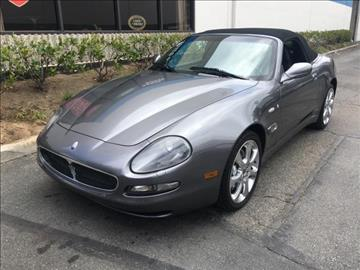2004 Maserati Spyder for sale in Lake Forest, CA