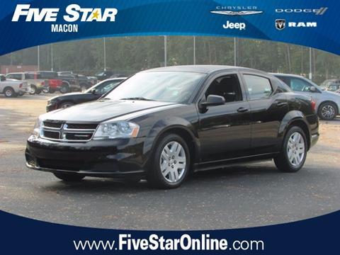 2012 Dodge Avenger for sale in Macon, GA