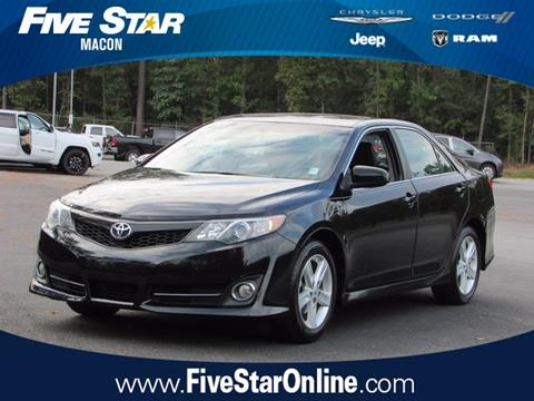 2013 Toyota Camry for sale in Macon, GA