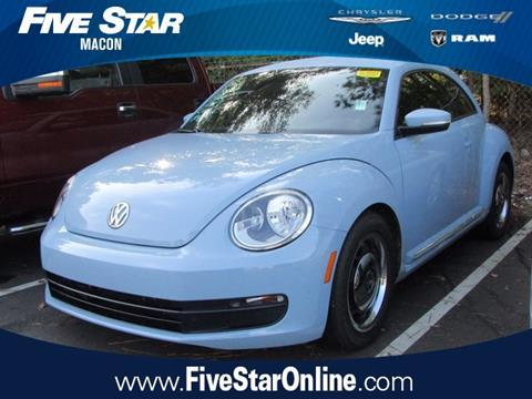 2012 Volkswagen Beetle for sale in Macon, GA