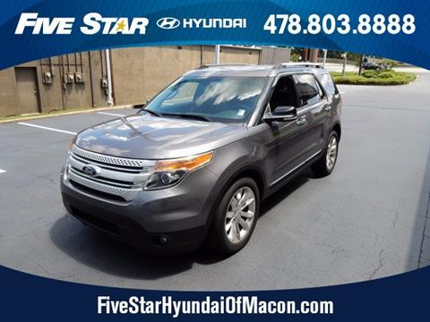 2014 Ford Explorer for sale in Macon, GA