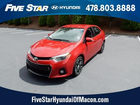 2016 Toyota Corolla for sale in Macon GA