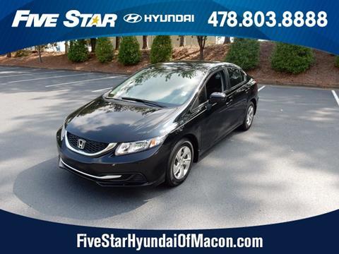 2015 Honda Civic for sale in Macon, GA