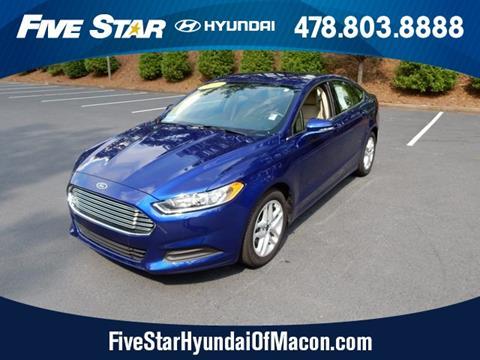 2016 Ford Fusion for sale in Macon GA