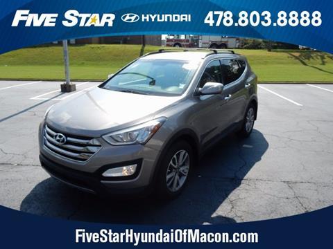 2016 Hyundai Santa Fe Sport for sale in Macon, GA