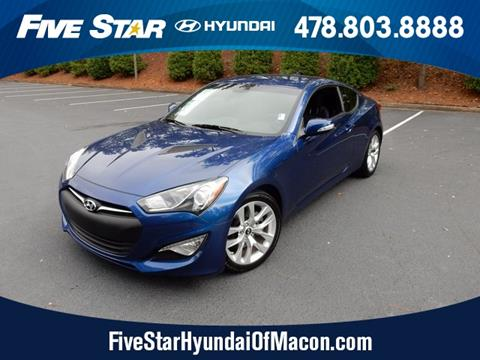 2016 Hyundai Genesis Coupe for sale in Macon, GA