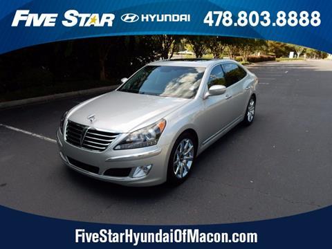 2013 Hyundai Equus for sale in Macon GA