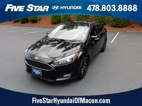 2016 Ford Focus for sale in Macon, GA