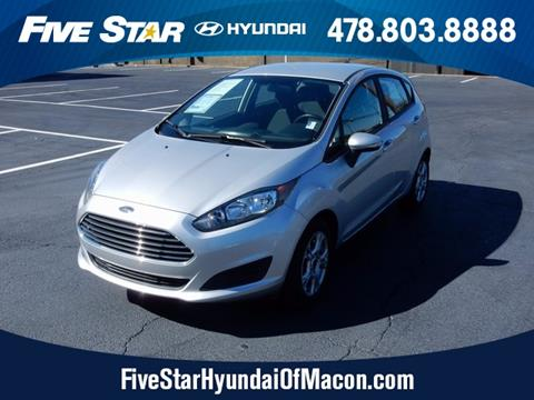 2016 Ford Fiesta for sale in Macon GA