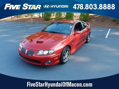 2006 Pontiac GTO for sale in Macon GA