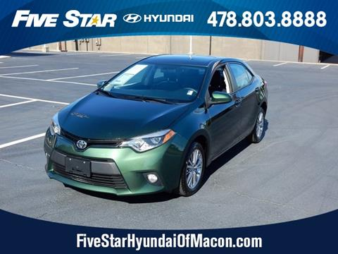 2014 Toyota Corolla for sale in Macon GA