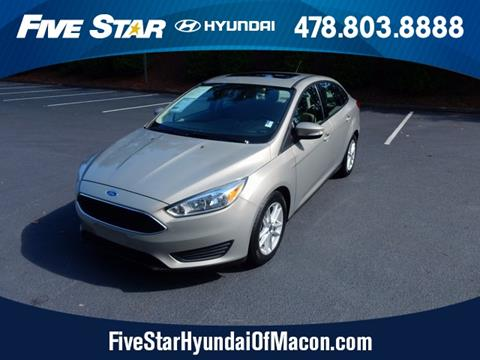 2015 Ford Focus for sale in Macon, GA