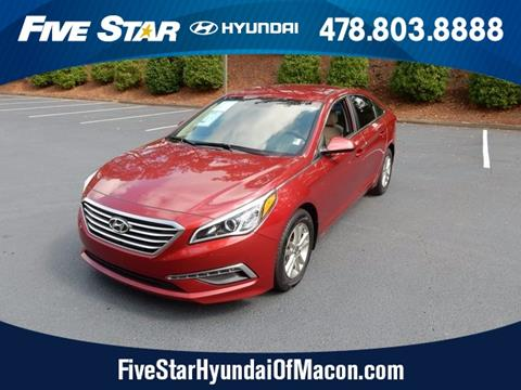 2015 Hyundai Sonata for sale in Macon GA