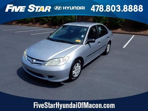 2004 Honda Civic for sale in Macon GA