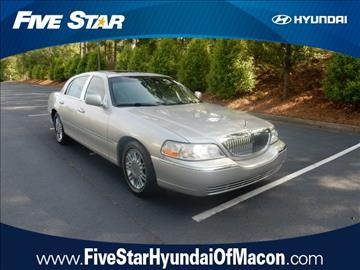 2006 Lincoln Town Car for sale in Macon, GA