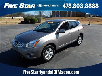 2013 Nissan Rogue for sale in Macon, GA
