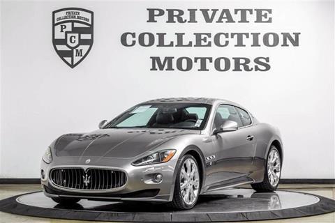 2011 Maserati GranTurismo for sale in Costa Mesa, CA