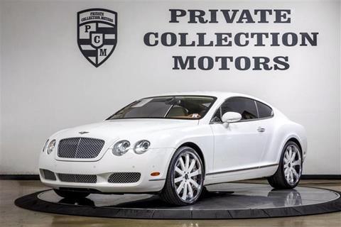 2007 Bentley Continental GT for sale in Costa Mesa, CA