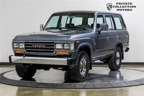 1988 Toyota Land Cruiser For Sale In Costa Mesa, CA