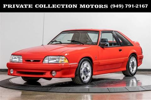 1993 Ford Mustang For Sale In Show Low Az Carsforsale