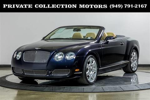 2008 Bentley Continental For Sale In California Carsforsale
