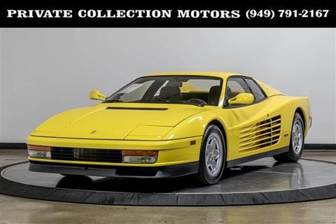 Ferrari Testarossa For Sale Carsforsale
