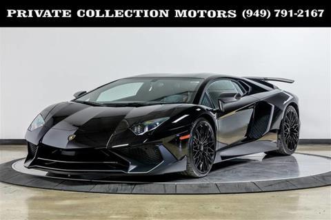 Used 2017 Lamborghini Aventador For Sale Carsforsale Com