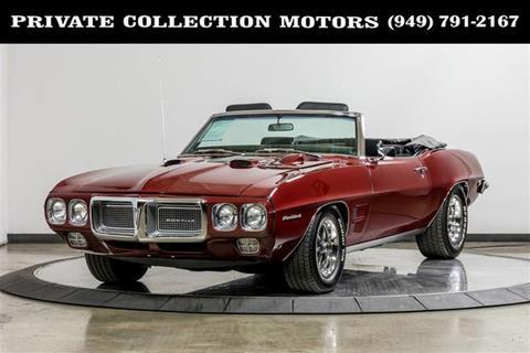 1969 Pontiac Firebird for sale in Costa Mesa, CA
