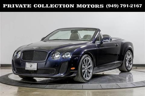 2011 Bentley Continental for sale in Costa Mesa, CA