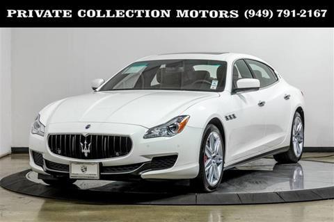 2016 Maserati Quattroporte for sale in Costa Mesa, CA